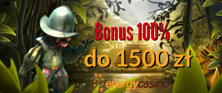 Energy Casino bonus 1500 PLN